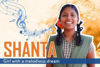Shanta: Girl with a melodious dream