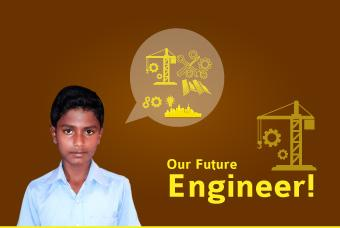 Meet Manikanta: Our Would-be Engineer!